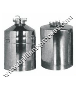 Pressure and filling Vessel